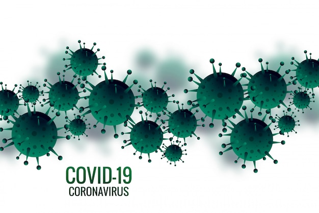 Contexte de l'influenza bactérienne ou coronavirus