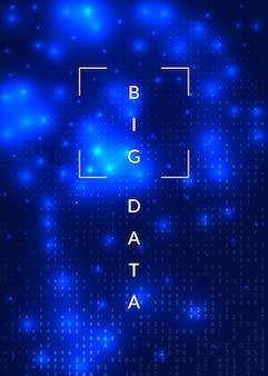 Contexte de l'intelligence artificielle. technologie pour les mégadonnées, la visualisation, l'apprentissage en profondeur et l'informatique quantique. modèle de conception pour le concept de stockage. toile de fond géométrique de l'intelligence artificielle.