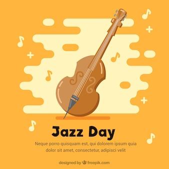 Contexte jazz jour violon
