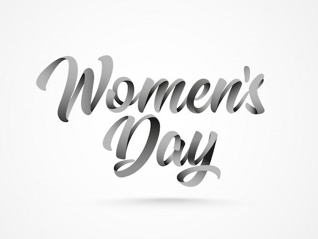 Contexte de la journée des femmes heureux.