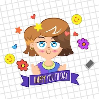 Contexte de la journée des jeunes avec un enfant