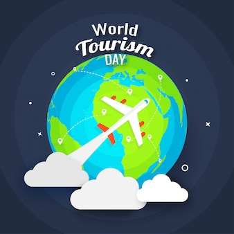 Contexte de la journée mondiale du tourisme.