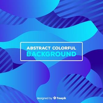 Contexte moderne avec des formes abstraites