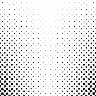 Contexte de motif carré monochrome