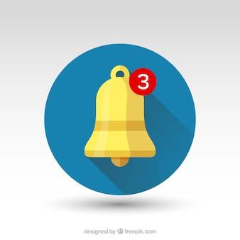 Contexte de notification de bell