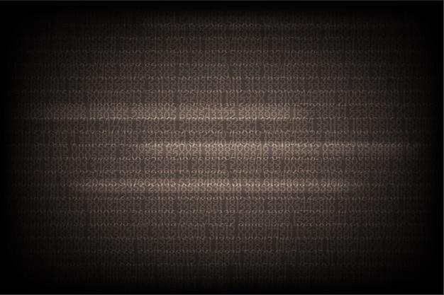 Contexte de numéro de technologie abstraite.