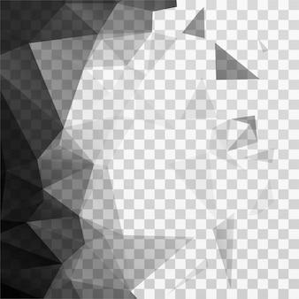 Contexte polygonal moderne