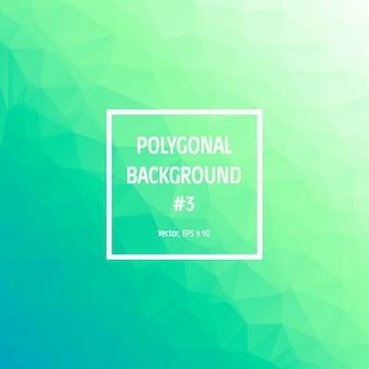 Contexte polygonal vert