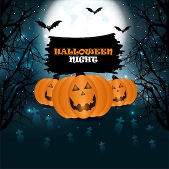 Contexte pour la conception d'halloween