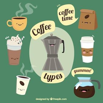 Contexte pour le moment du café
