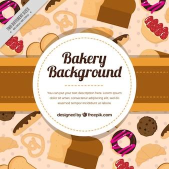 Contexte les produits de boulangerie complets