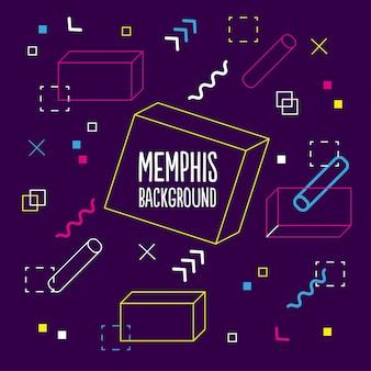 Contexte de purple memphis