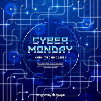 Contexte réaliste du cyber lundi