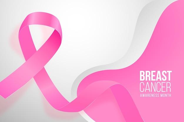 Contexte réaliste du mois de sensibilisation au cancer du sein