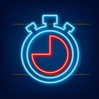 Contexte sportif. ensemble de vecteurs. situé sur fond blanc. chronomètre. illustration vectorielle de stock.