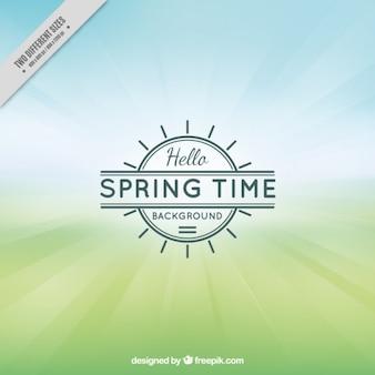 Contexte spring time