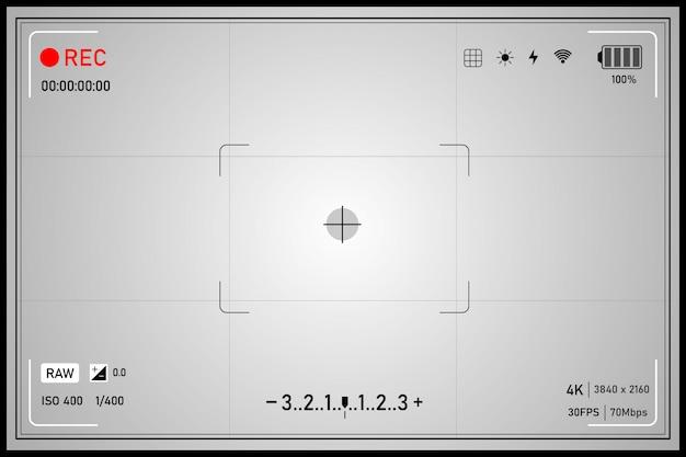 Contexte de la technologie moderne. éléments de l'écran cible. décrivez les interfaces utilisateur hud pour les entreprises.
