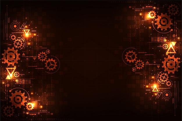 Contexte technologique pour les engrenages dans les concepts mécaniques.