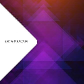 Contexte triangle abstrait