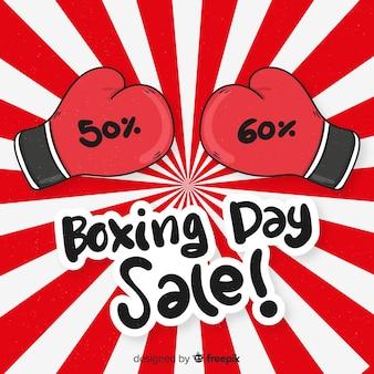 Contexte de vente boxing day