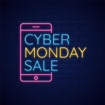 Contexte de vente cyber lundi.