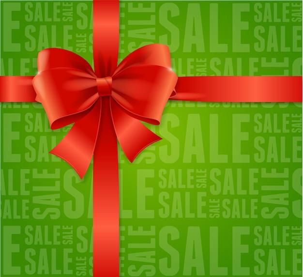 Contexte de la vente remises d'hiver et achat de cadeaux.