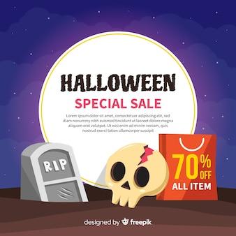 Contexte des ventes d'halloween