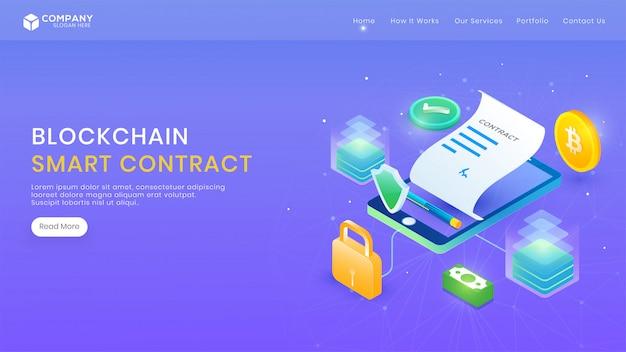 Contrat électronique intelligent