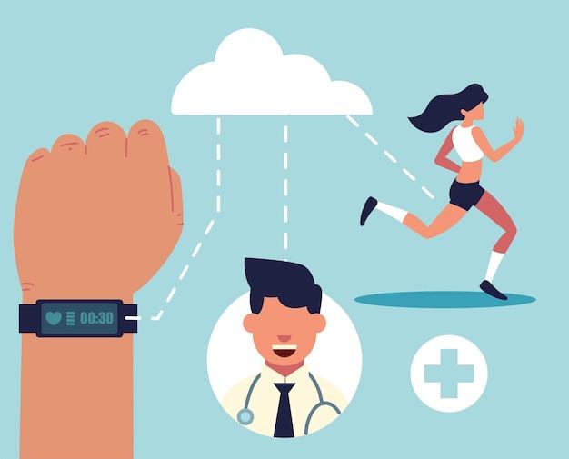 Contrôle numérique de la santé