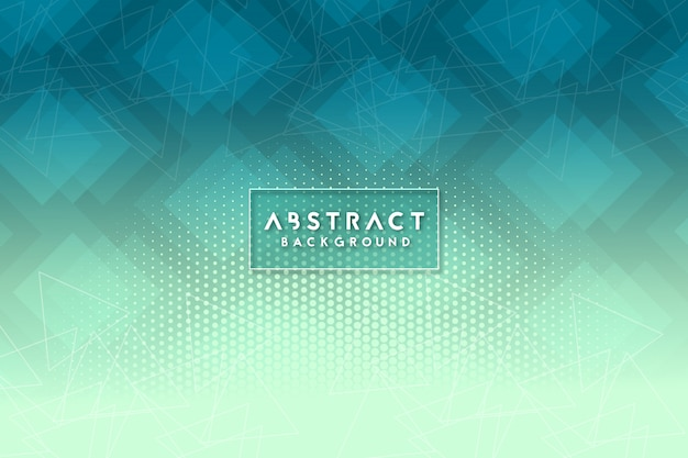 Cool abstrait géométrique