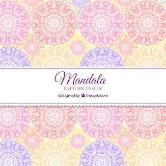 Cool fond de motif de mandala