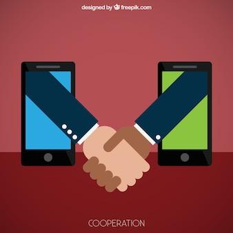 La coopération commerciale