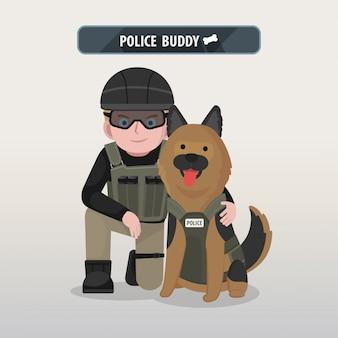 Copain de la police