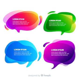 Copier la bulle de dialogue en dégradé