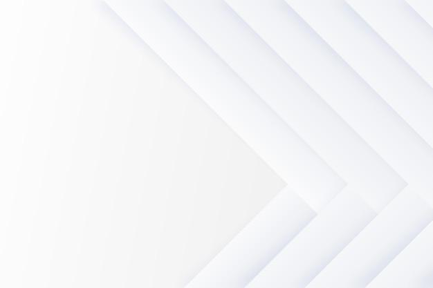 Copiez l'espace fond blanc avec des flèches
