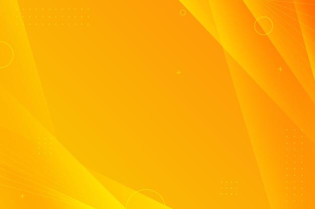 Copiez l'espace fond jaune dégradé