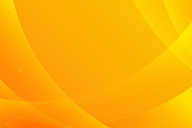 Copiez l'espace fond orange dégradé