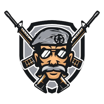 Cops vector illustration icône de mascotte