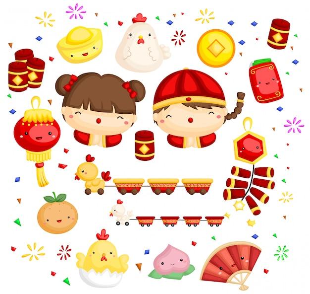 Coq nouvel an chinois