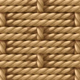 Corde en sisal de fibre de chanvre naturel