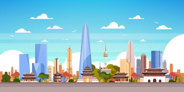 Corée du sud skyline voir
