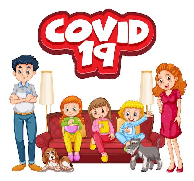 Coronavirus et membre de la famille