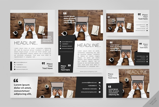 Corporate layout pack