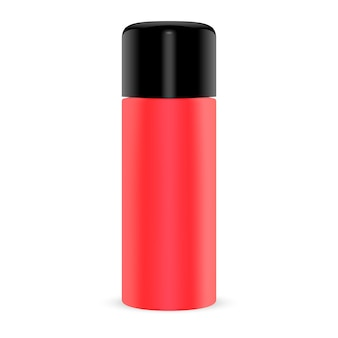 Cosmetic tin pour poudre sèche. aérosol