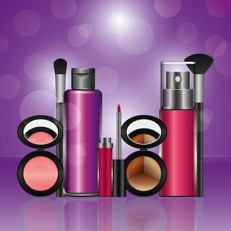 Cosmétiques maquillage lâche fard à paupières