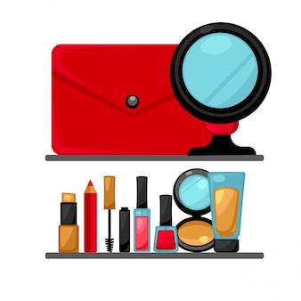 Cosmétiques et objets de maquillage