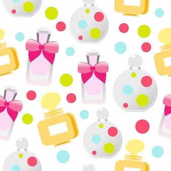 Cosmétiques et parfums pour femmes. modèle d'emballage de produits de beauté.