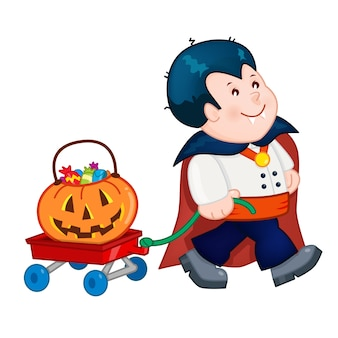 Costume d'halloween dracula