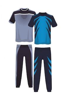 Costume de sport de remise en forme masculine