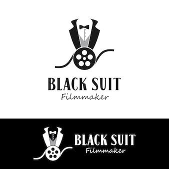 Costumes soignés et rouleaux de film pour l'inspiration de conception de production de cinéastes